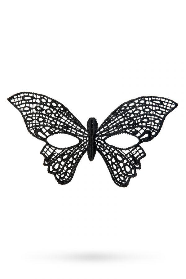 Маска нитяная Toyfa Theatre «Бабочка», черный, Категория - Белье и одежда/Аксессуары для белья и одежды/Украшения на голову, шею, лицо, Атрикул 0T-00008338 Изображение 1