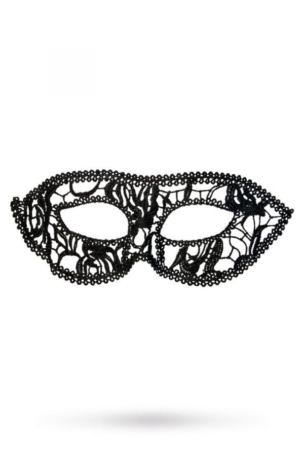 Маска нитяная Toyfa Theatre «Маскарад», черный, Категория - Белье и одежда/Аксессуары для белья и одежды/Украшения на голову, шею, лицо, Атрикул 0T-00008342 Изображение 1