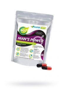 Капсулы Man''s Power+Lcamitin  возбуждающее средство 10 штук, Категория - БАДы/БАДы для мужчин, Атрикул 0T-00008716 Изображение 1