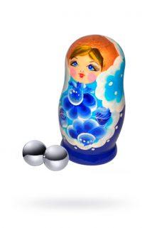 Вагинальные шарики Sitabella металлические,Ø2,2 см, Категория - Секс-игрушки/Вагинальные шарики и тренажеры интимных мышц/Вагинальные шарики, Атрикул 0T-00008801 Изображение 1