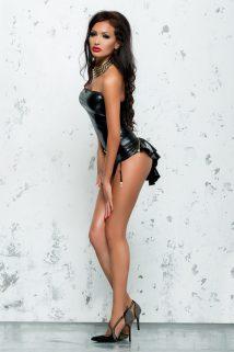 L/XL Корсет с пажами для чулок Me Seduce Bond Me Chantal, черный, L/XL, Категория - Белье и одежда/Женская одежда и белье/Корсеты, топы, Атрикул 0T-00008872 Изображение 1