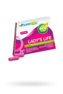Капсулы Lady'sLife возбуждающие для женщин ,14 штук, Категория - БАДы/БАДы для женщин, Атрикул 0T-00008991 Изображение 1