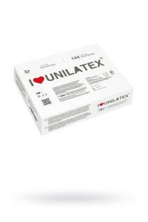 Презервативы Unilatex Natural Plain №144  ультратонкие (упаковка), Категория - Презервативы/Классические презервативы, Атрикул 0T-00009067 Изображение 1