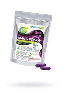 Капсулы Man''s Power плюс возбуждающее средство 2 штуки, Категория - БАДы/БАДы для мужчин, Атрикул 0T-00009279 Изображение 1