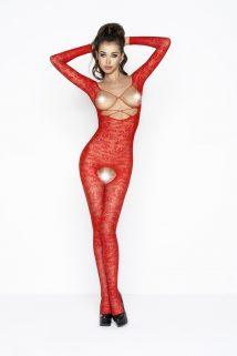 One Size Костюм-сетка Passion Erotic Line, красный, OS, Категория - Белье и одежда/Женская одежда и белье/Костюмы и платья в сетку, Атрикул 0T-00009151 Изображение 1
