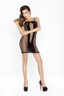 One Size Платье-сетка Passion Erotic Line, черное, OS, Категория - Белье и одежда/Женская одежда и белье/Костюмы и платья в сетку, Атрикул 0T-00009142 Изображение 1