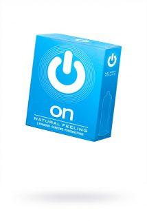Презервативы ''ON)'' Natural feeling №3 - классические (ширина 54mm), Категория - Презервативы/Классические презервативы, Атрикул 0T-00010011 Изображение 1