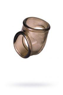 Эрекционное кольцо на пенис TOYFA XLover  , Термопластичный эластомер (TPE), чёрный, 3,5 см, Категория - Секс-игрушки/Кольца и насадки/Кольца на пенис, Атрикул 0T-00009593 Изображение 1
