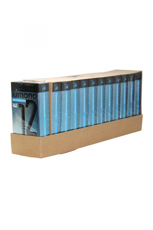 Презервативы КИМОНО текстурированные № 12, 12 шт., Категория - Презервативы/Классические презервативы, Атрикул 0T-00010030 Изображение 3