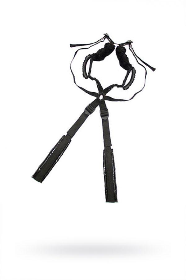 Комплект бондажный Romfun Sex Harness Bondage на сбруе, чёрный, Категория - БДСМ, фетиш/Фиксация и бондаж/Наборы для фиксации, Атрикул 0T-00009631 Изображение 1