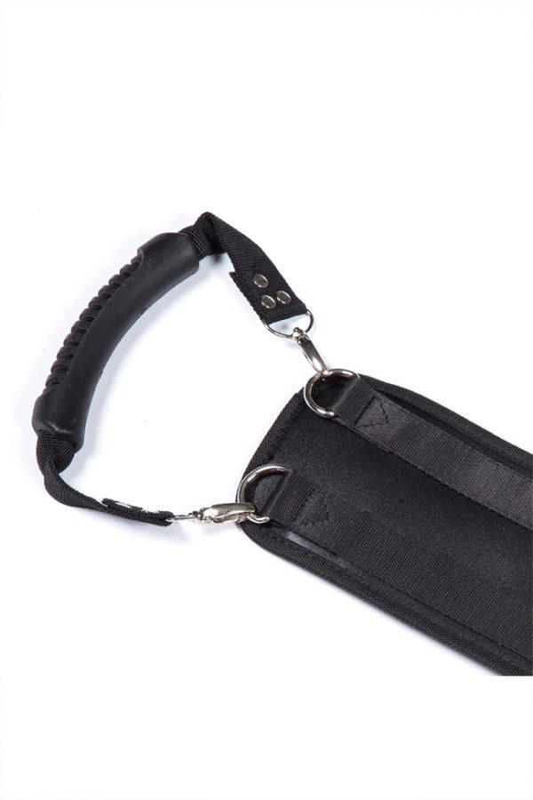 Ремень для фиксации Romfun Doggie Style, чёрный, Категория - БДСМ, фетиш/Фиксация и бондаж/Наборы для фиксации, Атрикул 0T-00009633 Изображение 3