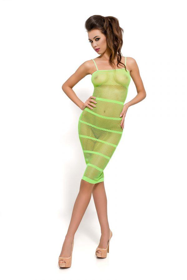 One Size Платье-сетка Passion Erotic Line, зеленое, OS, Категория - Белье и одежда/Женская одежда и белье/Костюмы и платья в сетку, Атрикул 0T-00009155 Изображение 1