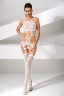 One Size Костюм-сетка Passion Erotic Line, белый, OS, Категория - Белье и одежда/Женская одежда и белье/Костюмы и платья в сетку, Атрикул 0T-00010389 Изображение 1