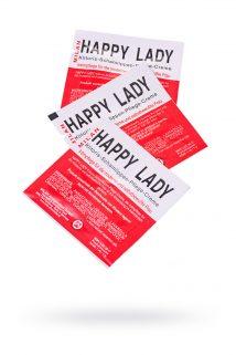 Крем для усиления возбуждения Milan Happy Lady для женщин, саше 10 шт, Категория - Интимная косметика/Кремы для стимуляции и коррекции размеров/Кремы возбуждающие, Атрикул 0T-00010653 Изображение 1