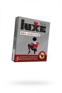 Презервативы Luxe Big Box Sex Machine панель, 18 см., №3, 24 шт., Категория - Презервативы/Классические презервативы, Атрикул 0T-00010751 Изображение 1