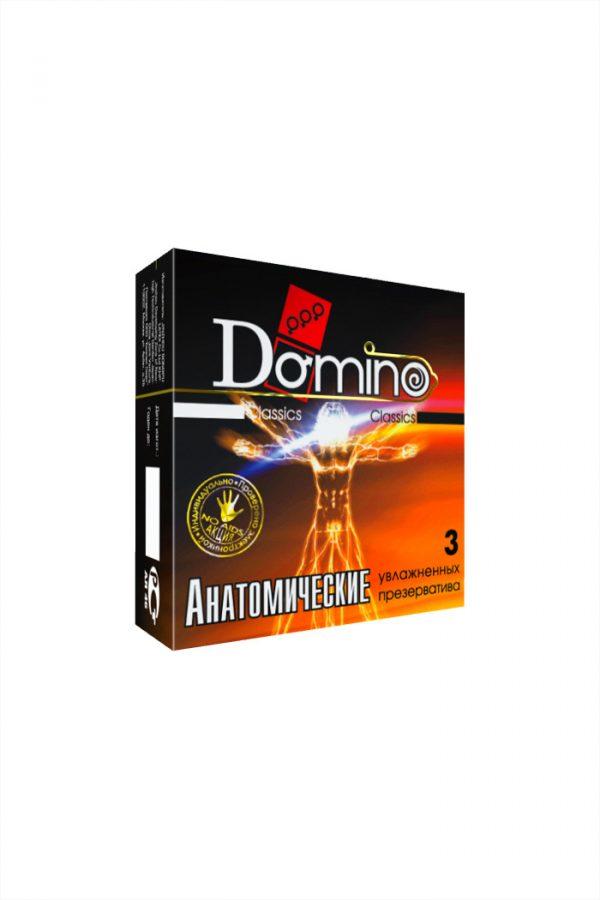 Презервативы Luxe DOMINO Classics Анатомические 18 см, 3 шт. в упаковке, Категория - Презервативы/Классические презервативы, Атрикул 0T-00010726 Изображение 2