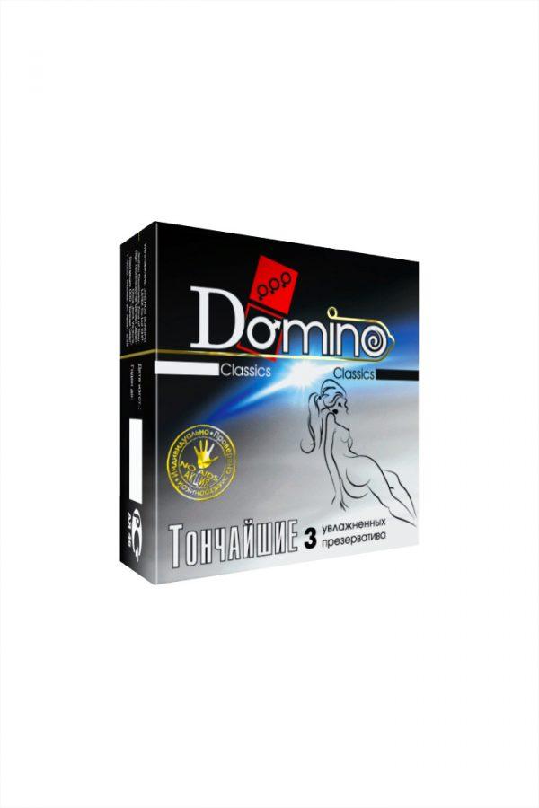 Презервативы Luxe DOMINO Classics ультратонкие, 18 см., 3 шт. в упаковке, Категория - Презервативы/Классические презервативы, Атрикул 0T-00010727 Изображение 2