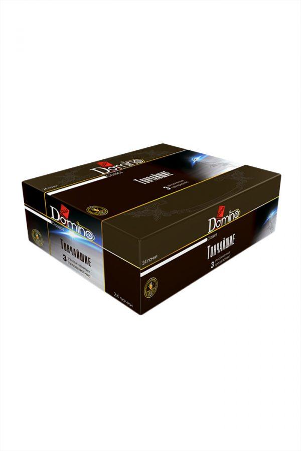 Презервативы Luxe DOMINO Classics ультратонкие, 18 см., 3 шт. в упаковке, Категория - Презервативы/Классические презервативы, Атрикул 0T-00010727 Изображение 3