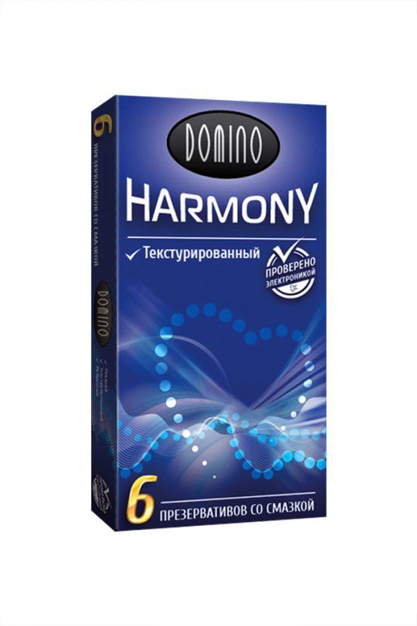 Презервативы Luxe DOMINO HARMONY Текстурированный 6 шт. в упаковке, Категория - Презервативы/Классические презервативы, Атрикул 0T-00010730 Изображение 2