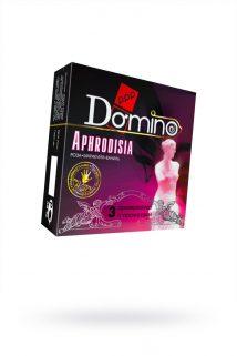 Презервативы Luxe DOMINO PREMIUM Aphrodisia, роза, маракуйя, ваниль, 3 шт. в упаковке, Категория - Презервативы/Классические презервативы, Атрикул 0T-00010731 Изображение 1