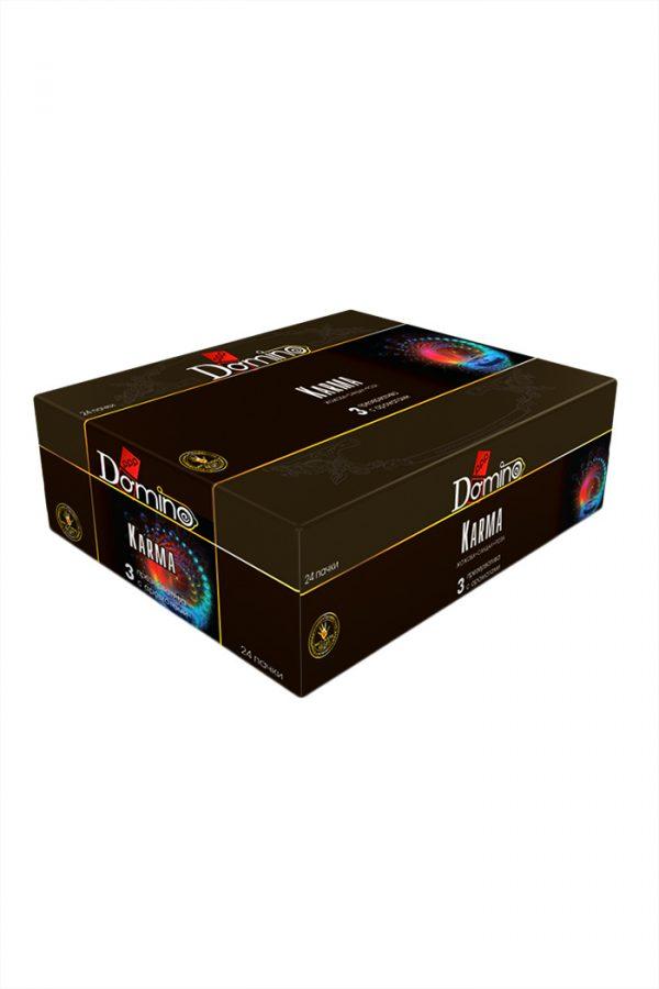 Презервативы Luxe DOMINO PREMIUM Karma, роза, жожоба и сандал,  3 шт. в упаковке, Категория - Презервативы/Классические презервативы, Атрикул 0T-00010735 Изображение 3