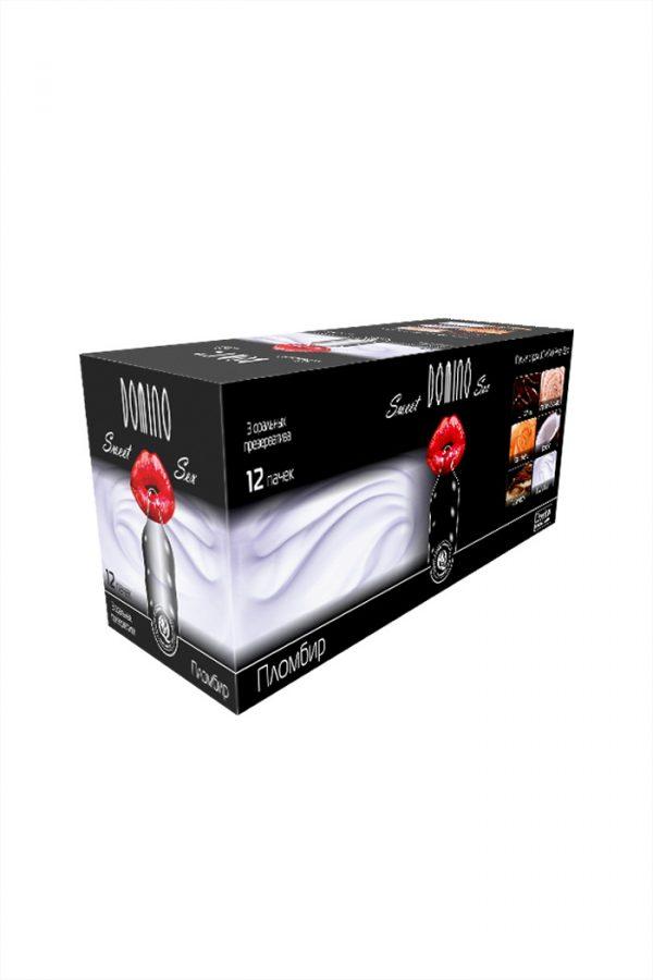 Презервативы Luxe Domino sweet sex Пломбир, 18 см., 3 шт. в упаковке, Категория - Презервативы/Классические презервативы, Атрикул 0T-00010739 Изображение 3