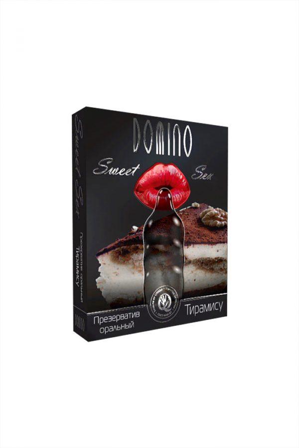 Презервативы Luxe Domino sweet sex Тирамису, 18 см., 3 шт. в упаковке, Категория - Презервативы/Классические презервативы, Атрикул 0T-00010743 Изображение 2