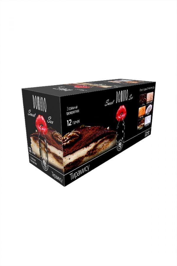 Презервативы Luxe Domino sweet sex Тирамису, 18 см., 3 шт. в упаковке, Категория - Презервативы/Классические презервативы, Атрикул 0T-00010743 Изображение 3