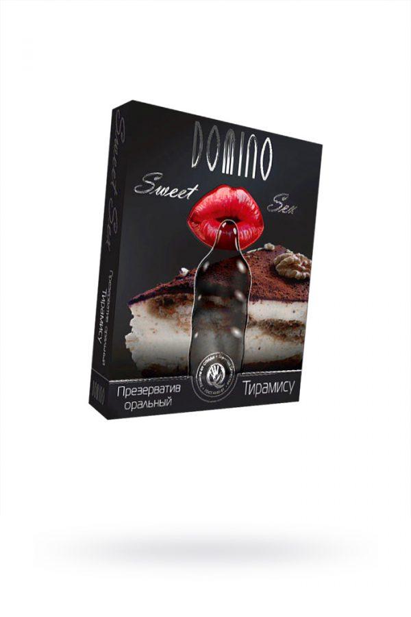 Презервативы Luxe Domino sweet sex Тирамису, 18 см., 3 шт. в упаковке, Категория - Презервативы/Классические презервативы, Атрикул 0T-00010743 Изображение 1