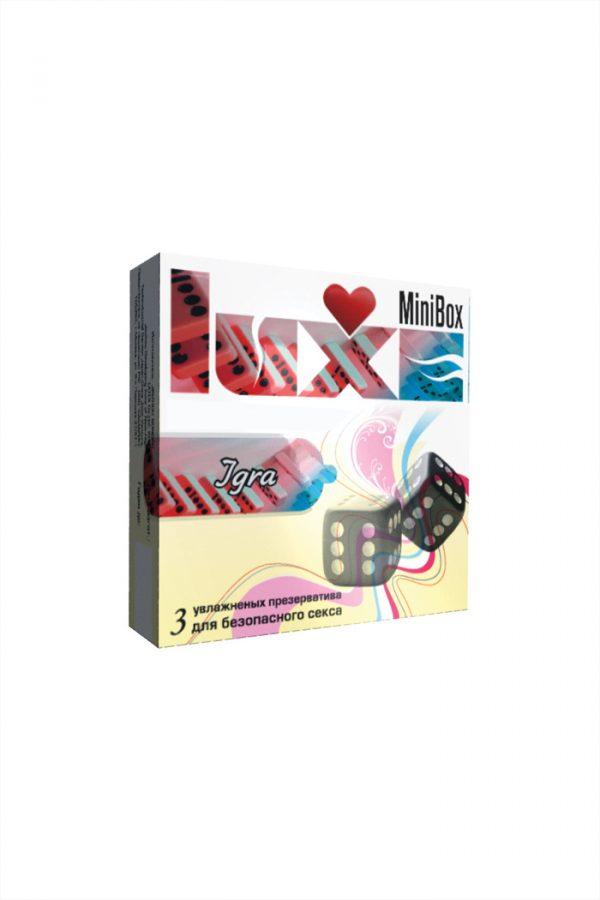Презервативы Luxe Mini Box Игра, 18 см., №3, 24 шт., Категория - Презервативы/Классические презервативы, Атрикул 0T-00010753 Изображение 3