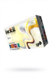 Презервативы Luxe Mini Box Игра, 18 см., №3, 24 шт., Категория - Презервативы/Классические презервативы, Атрикул 0T-00010753 Изображение 1