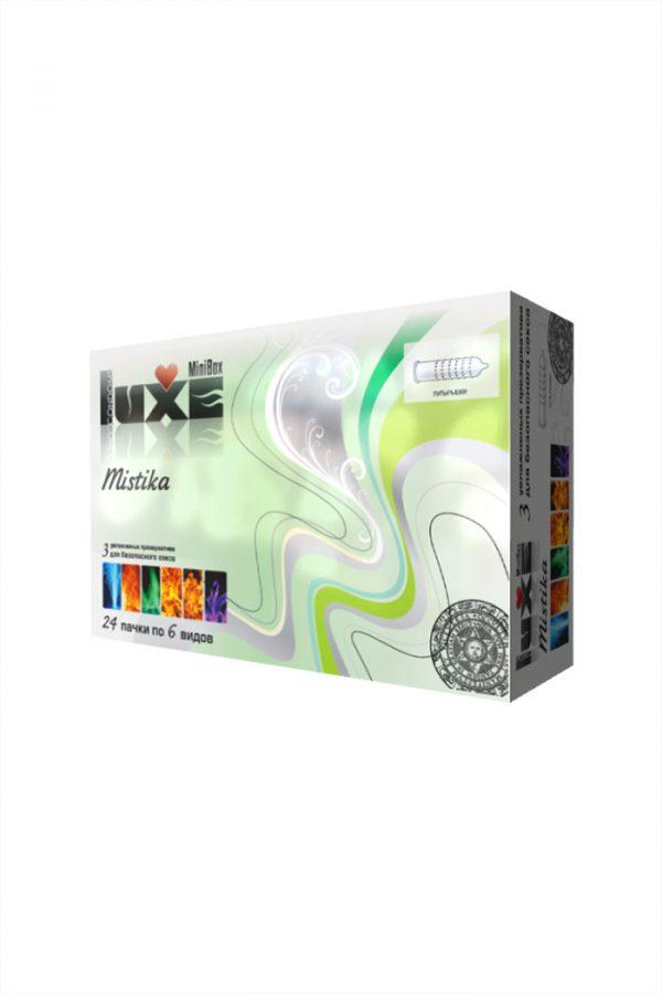 Презервативы Luxe Mini Box Мистика, 18 см., №3, 24 шт., Категория - Презервативы/Рельефные и фантазийные презервативы, Атрикул 0T-00010755 Изображение 2