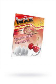 Презервативы Luxe КОНВЕРТ, Красноголовый мексиканец, вишня, 18 см., 3 шт. в упаковке, Категория - Презервативы/Классические презервативы, Атрикул 0T-00010764 Изображение 1