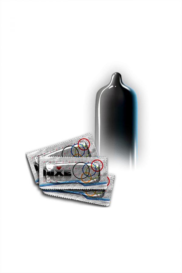 Презервативы Luxe КОНВЕРТ, Черный плащ, 18 см., 3 шт. в упаковке, Категория - Презервативы/Классические презервативы, Атрикул 0T-00010774 Изображение 3