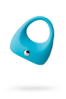 Эрекционное кольцо на пенис TOYFA A-Toys, Силикон, Голубой, Ø5,2 см, Категория - Секс-игрушки/Кольца и насадки/Кольца на пенис, Атрикул 0T-00009991 Изображение 1