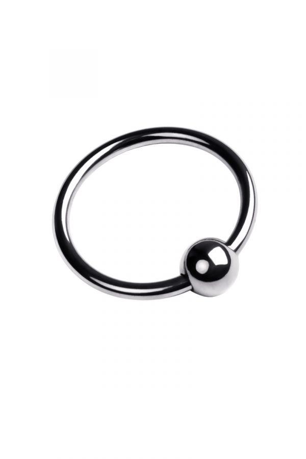Кольцо на головку пениса, TOYFA Metal, серебристое, Категория - Секс-игрушки/Кольца и насадки/Кольца на пенис, Атрикул 0T-00009558 Изображение 2