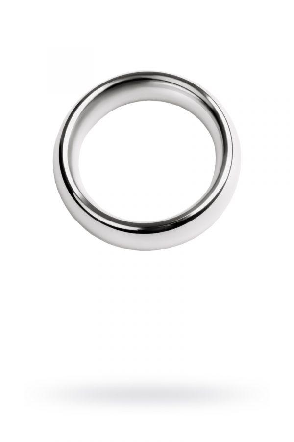 Кольцо на пенис, TOYFA Metal, серебристое, Категория - Секс-игрушки/Кольца и насадки/Кольца на пенис, Атрикул 0T-00009560 Изображение 1