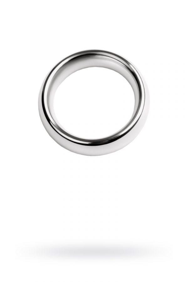 Кольцо на пенис, TOYFA Metal, серебристое, Категория - Секс-игрушки/Кольца и насадки/Кольца на пенис, Атрикул 0T-00009561 Изображение 1
