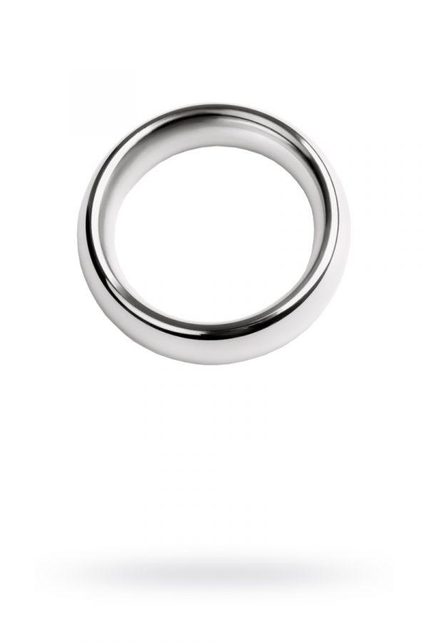 Кольцо на пенис, TOYFA Metal, серебристое, Категория - Секс-игрушки/Кольца и насадки/Кольца на пенис, Атрикул 0T-00010345 Изображение 1