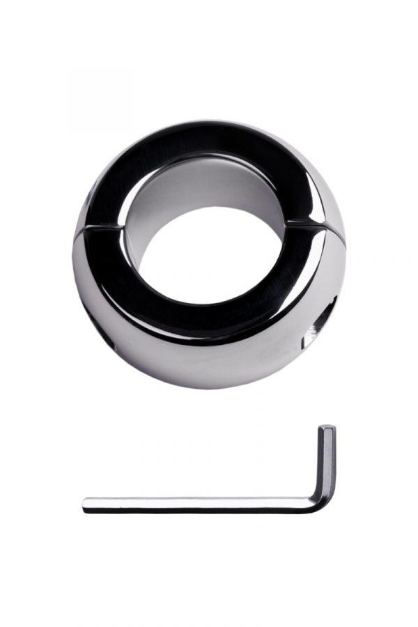 Утяжелитель на мошонку, TOYFA Metal, серебристый, Ø4см, 42г, Категория - БДСМ, фетиш/Медицинский фетиш, Атрикул 0T-00009578 Изображение 2