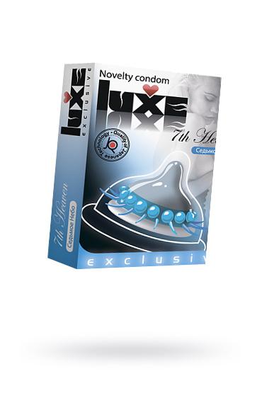 Презервативы Luxe Exclusive Седьмое небо №1, 1 шт, Категория - Презервативы/Рельефные и фантазийные презервативы, Атрикул 0T-00010902 Изображение 1