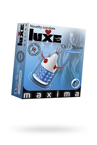 Презервативы Luxe Maxima Глубинная бомба №1, Категория - Презервативы/Рельефные и фантазийные презервативы, Атрикул 0T-00010905 Изображение 1
