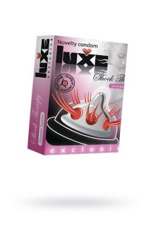 Презервативы Luxe Exclusive Шоковая терапия №1, 1 шт, Категория - Презервативы/Рельефные и фантазийные презервативы, Атрикул 0T-00010916 Изображение 1