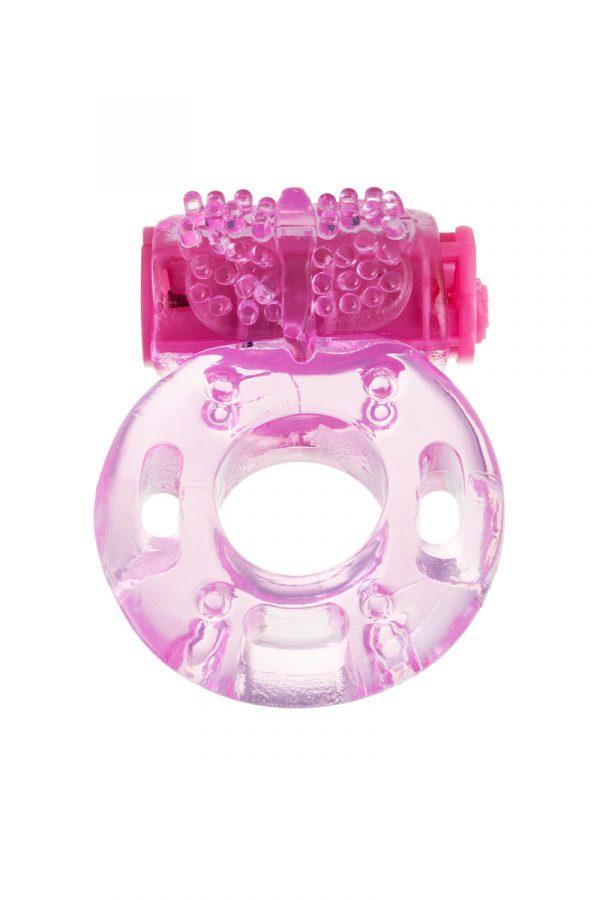Виброкольцо TOYFA, TPE, розовый, Категория - Секс-игрушки/Кольца и насадки/Кольца на пенис, Атрикул 0T-00010811 Изображение 2