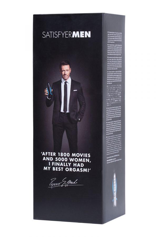 Мастурбатор нереалистичный Satisfyer  Men, Силикон, Чёрный, 25,5 см, Категория - Секс-игрушки/Мастурбаторы/Нереалистичные мастурбаторы, Атрикул 0T-00011460 Изображение 3