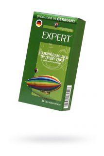 Презервативы Expert ''Возбуждающее путешествие'' №12, увеличенного  размера, 12шт, Категория - Презервативы/Классические презервативы, Атрикул 0T-00011614 Изображение 1