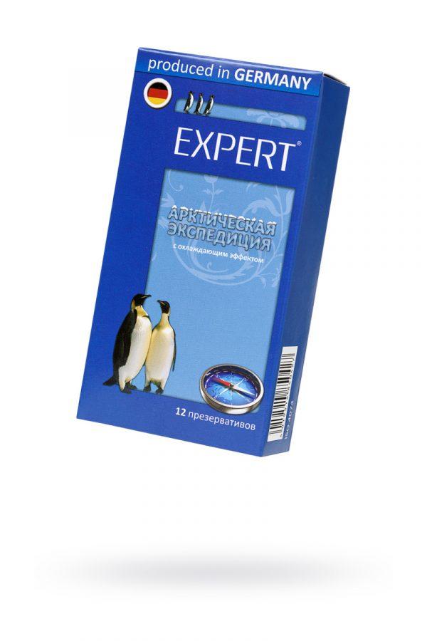 Презервативы Expert ''Арктическая экспедиция'' №12, с охлаждающим эффектом,12шт, Категория - Презервативы/Классические презервативы, Атрикул 0T-00011616 Изображение 1