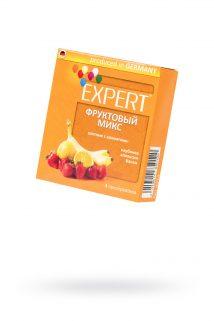 Презервативы Expert ''Фруктовый микс'' №3, цветные с ароматами: клубники, апельсина, банана, 3шт, Категория - Презервативы/Классические презервативы, Атрикул 0T-00011621 Изображение 1
