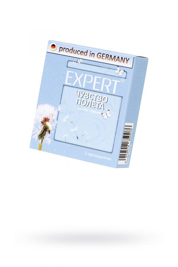 Презервативы Expert ''Чувство полета'' №3, супер тонкие, 3шт, Категория - Презервативы/Классические презервативы, Атрикул 0T-00011625 Изображение 1