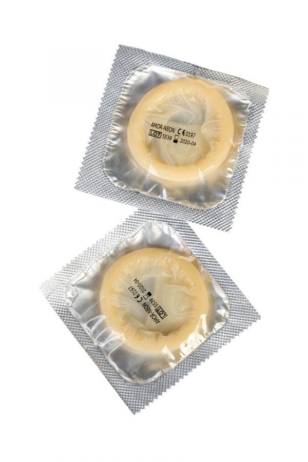 Презервативы Expert ''Неоновый дебют'' №2, светящиеся в темноте, 2шт, Категория - Презервативы/Классические презервативы, Атрикул 0T-00011627 Изображение 3